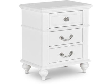 Picture of ALANA WHITE NIGHTSTAND - AN700