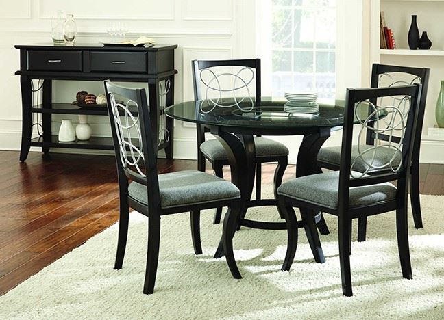 Picture of CAYMAN ROUND DINING SET