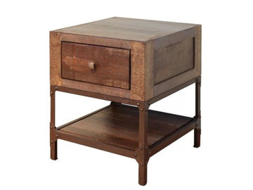 Picture of URBAN GOLD END TABLE - 560