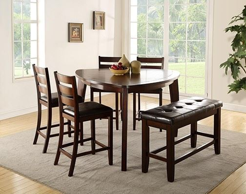 Picture of Lawrence 6 Piece Counter Height Pub Table Set