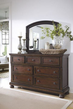 Picture of FRANKLIN DRESSER - CHERRY - 961