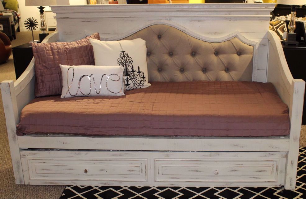 Chalet Daybed Nero White Only 699 00 Daybed Kids Bed White