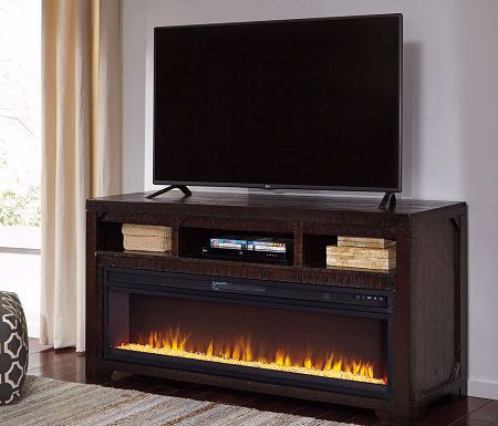 Picture of ELEANOR TV STAND WITH FIREPLACE