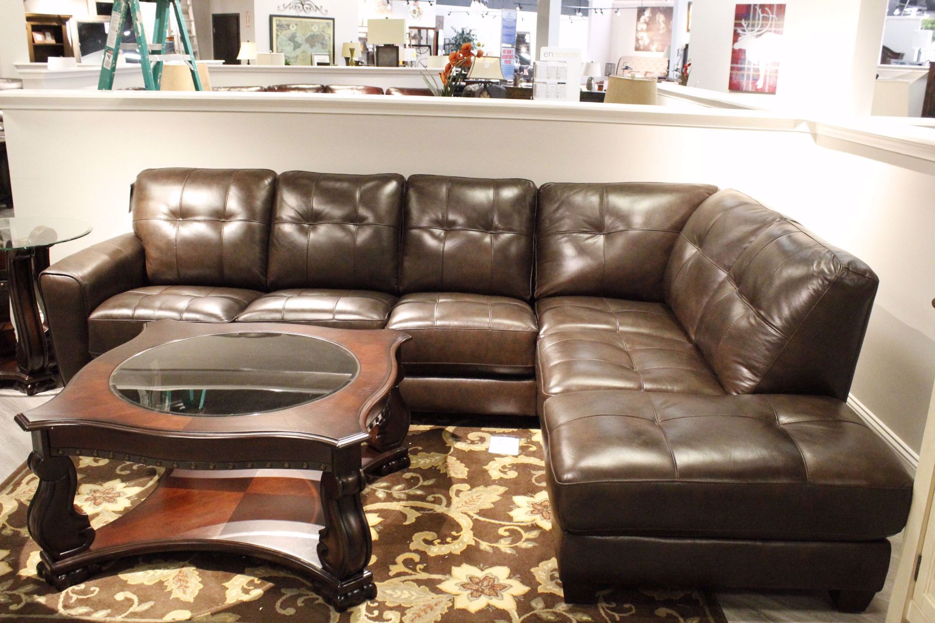 Picture of NATALIE LEATHER SECTIONAL