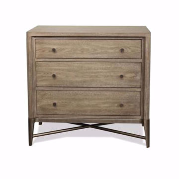 Picture of AFFINITY 3 DRAWER NIGHTSTAND