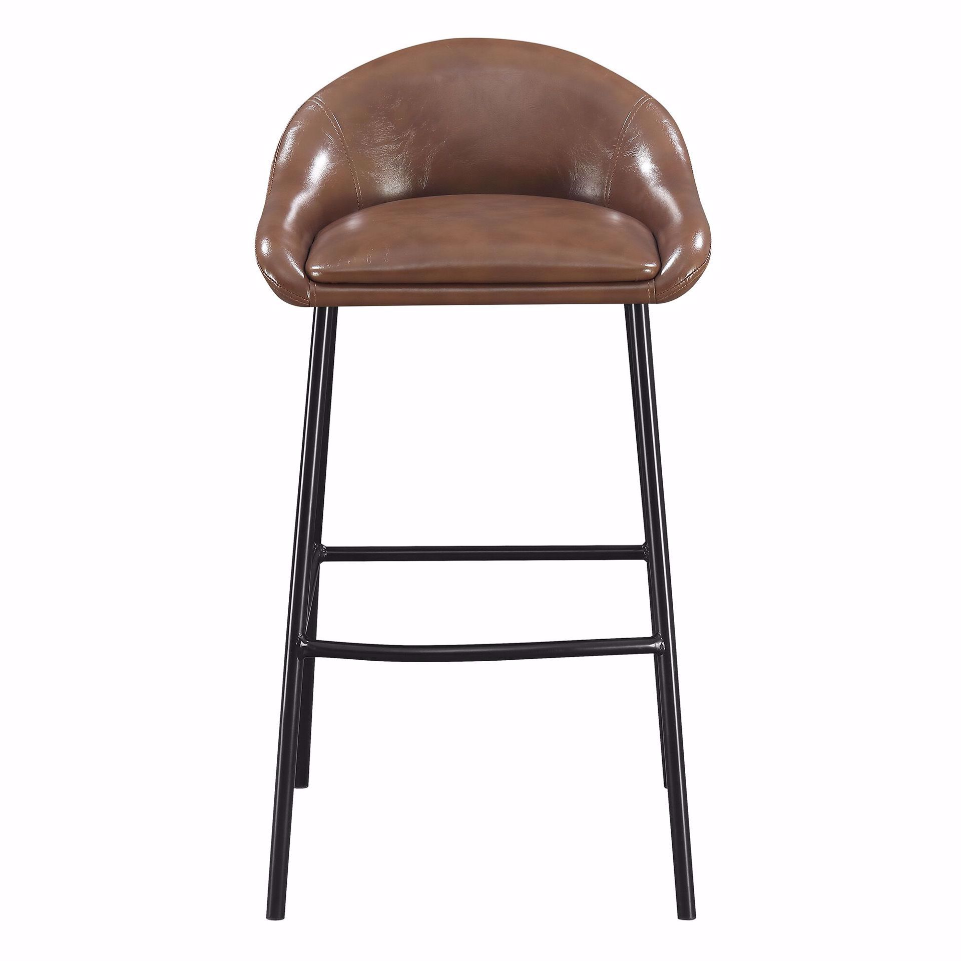 """Picture of BRAYLON 30"""" BARSTOOL BROWN"""