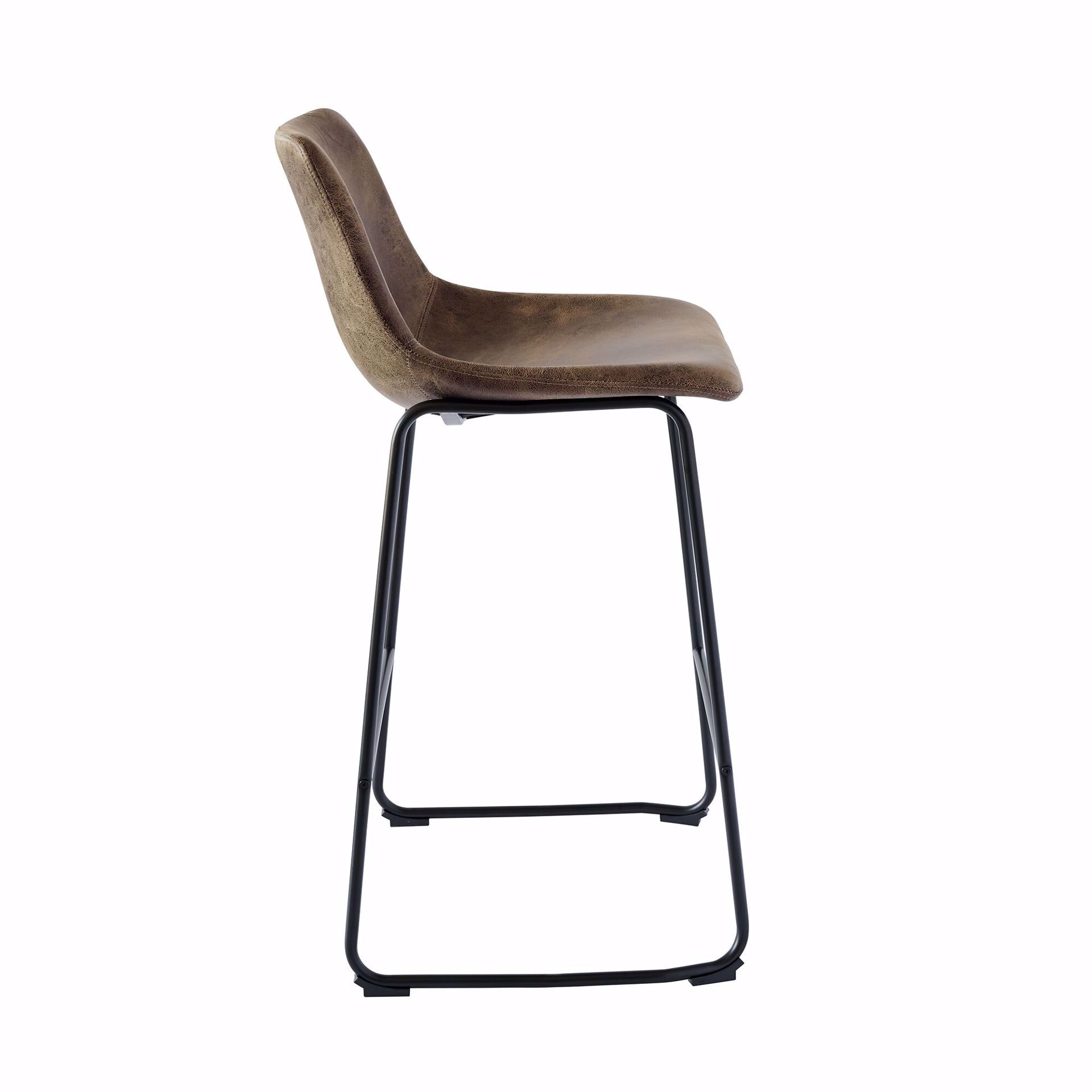 """Picture of WES 29"""" BARSTOOL BROWN"""