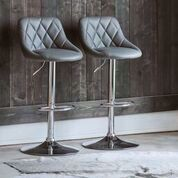 "Picture of MELISSA 31"" BARSTOOL GREY"