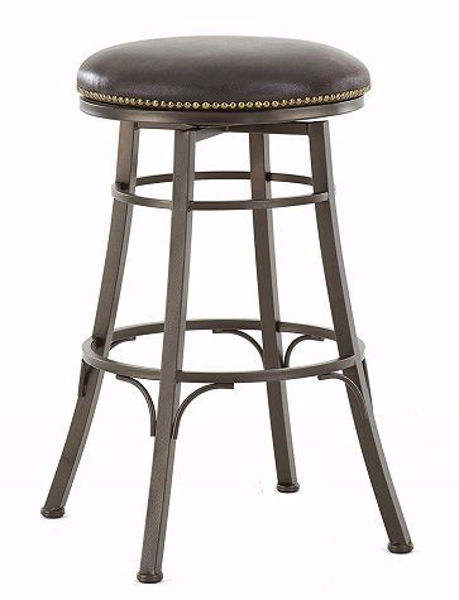 Picture of BALI BACKLESS SWIVEL BAR CHAIR - BL500