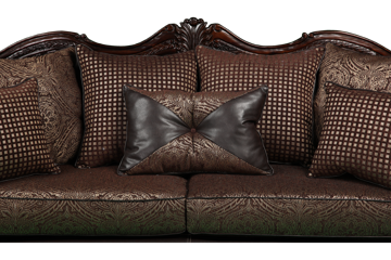 Picture of CRYSTAL BROWN SOFA - 1170