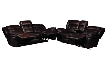 Picture of GENESIS POWER LEATHER RECLINING SET - 5700