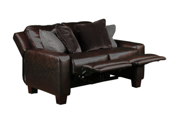 Picture of COLORADO POWER LEATHER LOVESEAT - 685