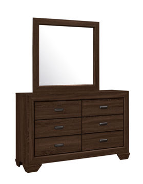 Picture of BIG SUR CHOCOLATE TWIN BEDROOM SET - B5510