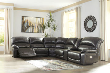 Picture of BIG CHIEF GREY POWER RECLINING SECTIONAL - U524