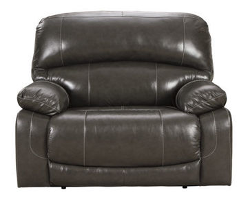 Picture of BIG CHIEF ZERO WALL POWER WIDE GREY RECLINER - U524