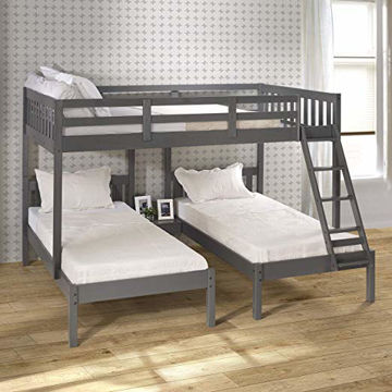 Picture of CITY TRI BUNKBED - 2332