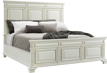 Picture of CALLOWAY WHITE KING BED - CY700