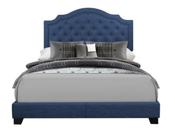 Picture of AVERY BLUE QUEEN BED - 255