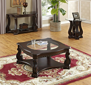 Picture of MADISON WOOD COFFEE TABLE - 4320
