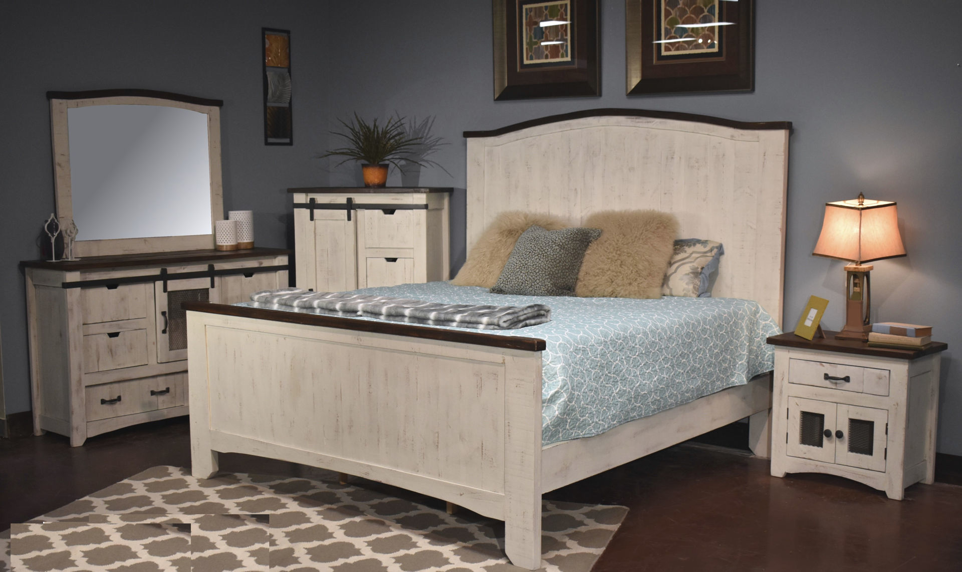 Picture of MESH KING BED