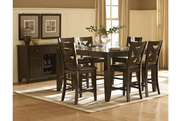 Picture of CATALINA COUNTER HEIGHT DINING SET - 1372