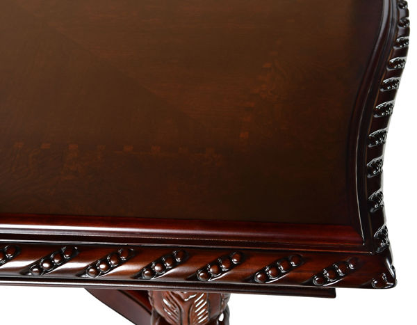 Picture of ANTOINETTE DOUBLE PEDESTAL TABLE - AY200