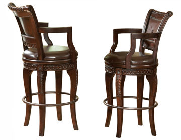 Picture of ANTOINETTE SWIVEL BAR CHAIR - AY700