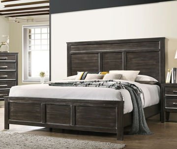 Picture of DAVIDSON NUTMEG QUEEN BED - 677