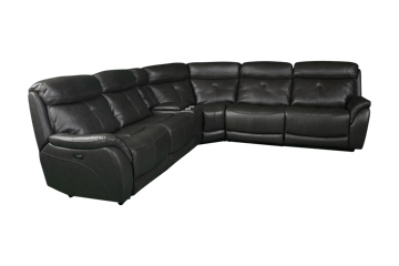 Picture of ALPHA GREY POWER SECTIONAL