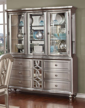 Picture of CHRISTIAN 2PC CHINA CABINET - 481