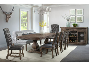 Picture of GRAMMERCY FORMAL 7PC DINING SET - C500