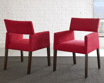 Picture of JULES RED DINING CHAIR
