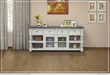 """Picture of 80"""" TV STAND W/ 4 DRAWERS - 469"""
