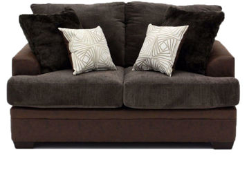 Picture of AKAN MOCHA LOVESEAT - 3650