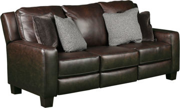 Picture of COLORADO POWER LEATHER SOFA - 685