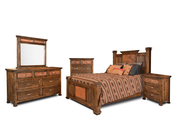 Picture of COPPER CANYON KING BEDROOM SET - 4246