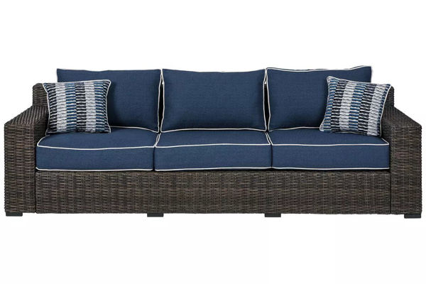 Picture of GRAYSON SOFA WITH CUSHION - P783