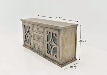 """Picture of WESTGATE 70"""" TV STAND"""