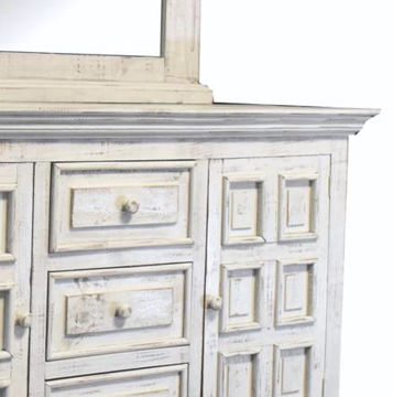Picture of VENICE DRESSER - NERO WHITE