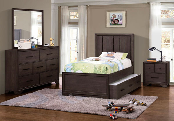 Picture of GRANITE FALLS FULL SIZE PANEL BED - 462