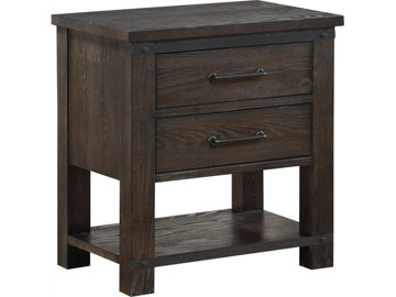 Picture of FOUNDERS MILL COCOA NIGHTSTAND