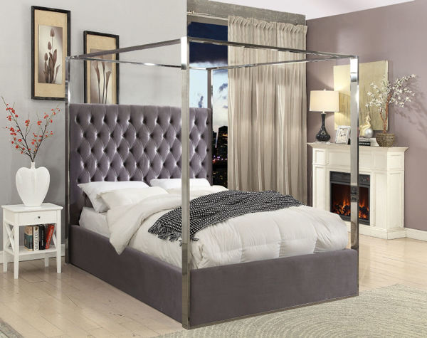 Picture of PORTER GREY KING BED - 318