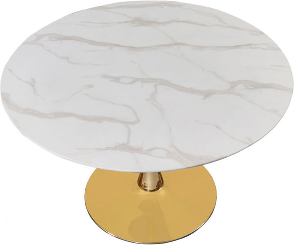 """Picture of TULIP 48"""" ROUND DINING TABLE - 975"""