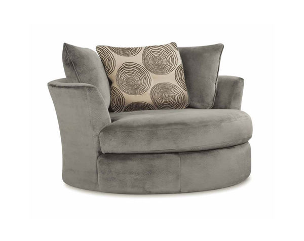 Picture of GROOVY GREY SWIVEL CHAIR - 1025