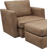 Picture of PALANCE BROWN CHAIR - S298