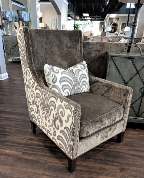 Picture of RUSTICA THUNDER ACCENT CHAIR - 20AII