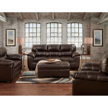 Picture of AUSTIN CHOCOLATE LOVESEAT - 560