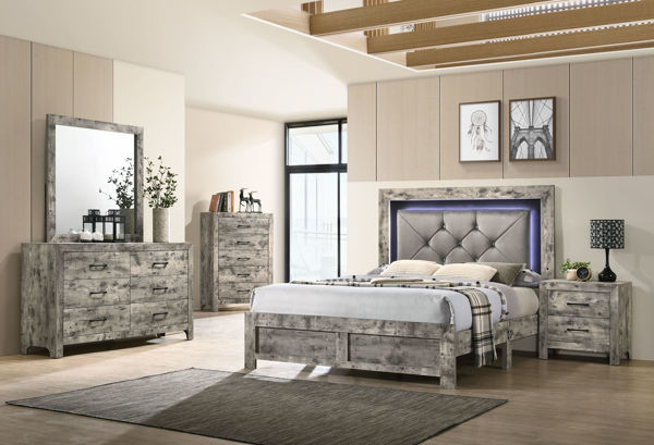 Picture of IMPERIAL KING BEDROOM SET - 8343