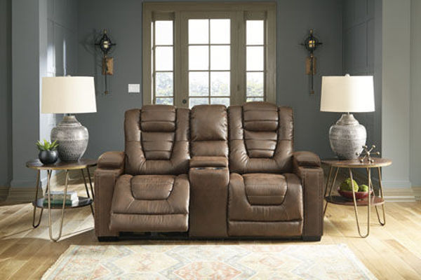 Picture of TREVOR POWER RECLINING CONSOLE LOVESEAT - 24505