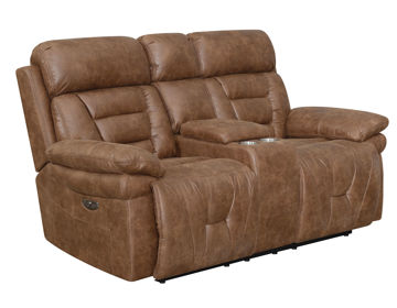 Picture of BROCK POWER CONSOLE LOVESEAT - BK900